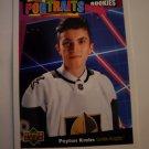 Peyton Krebs 2020-21 Upper Deck UD Portraits Insert Card