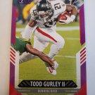 Todd Gurley 2021 Score Purple Insert Card