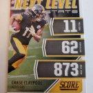 Chase Claypool 2021 Score Next Level Stats Insert Card