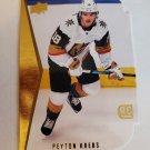 Peyton Krebs 2020-21 Upper Deck '94-95 Rookie Tributes Die Cut Insert Card