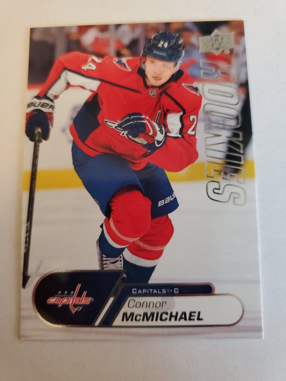 Connor McMichael 2020-21 Upper Deck Rookies Box Set Insert Card