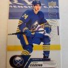 Dylan Cozens 2020-21 Upper Deck Rookies Box Set Insert Card