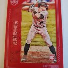 Andy Young 2021 Diamond Kings Red Frame Rookie Card