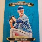 Brady Singer 2021 Diamond Kings Debut Diamond Kings Insert Card