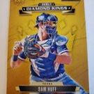 Sam Huff 2021 Diamond Kings Debut Diamond Kings Artist Proof Blue Insert Card