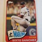 Sixto Sanchez 2021 Topps '65 Topps Redux Insert Card