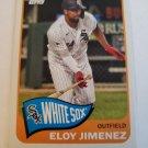 Eloy Jimenez 2021 Topps '65 Topps Redux Insert Card