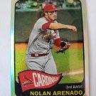Nolan Arenado 2021 Topps '65 Topps Redux Chrome Insert Card