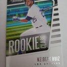 Keibert Ruiz 2021 Absolute Rookie Class Insert Card