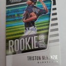 Triston McKenzie 2021 Absolute Rookie Class Insert Card