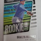 Brailyn Marquez 2021 Absolute Rookie Class Insert Card