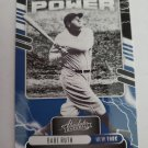 Babe Ruth 2021 Absolute Power Insert Card