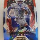 Kenneth Gainwell 2021 Prizm Draft Picks AA Prizms Red White & Blue Rookie Card