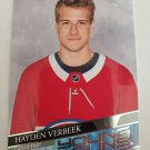 Hayden Verbeek 2020-21 Upper Deck Rookie Card