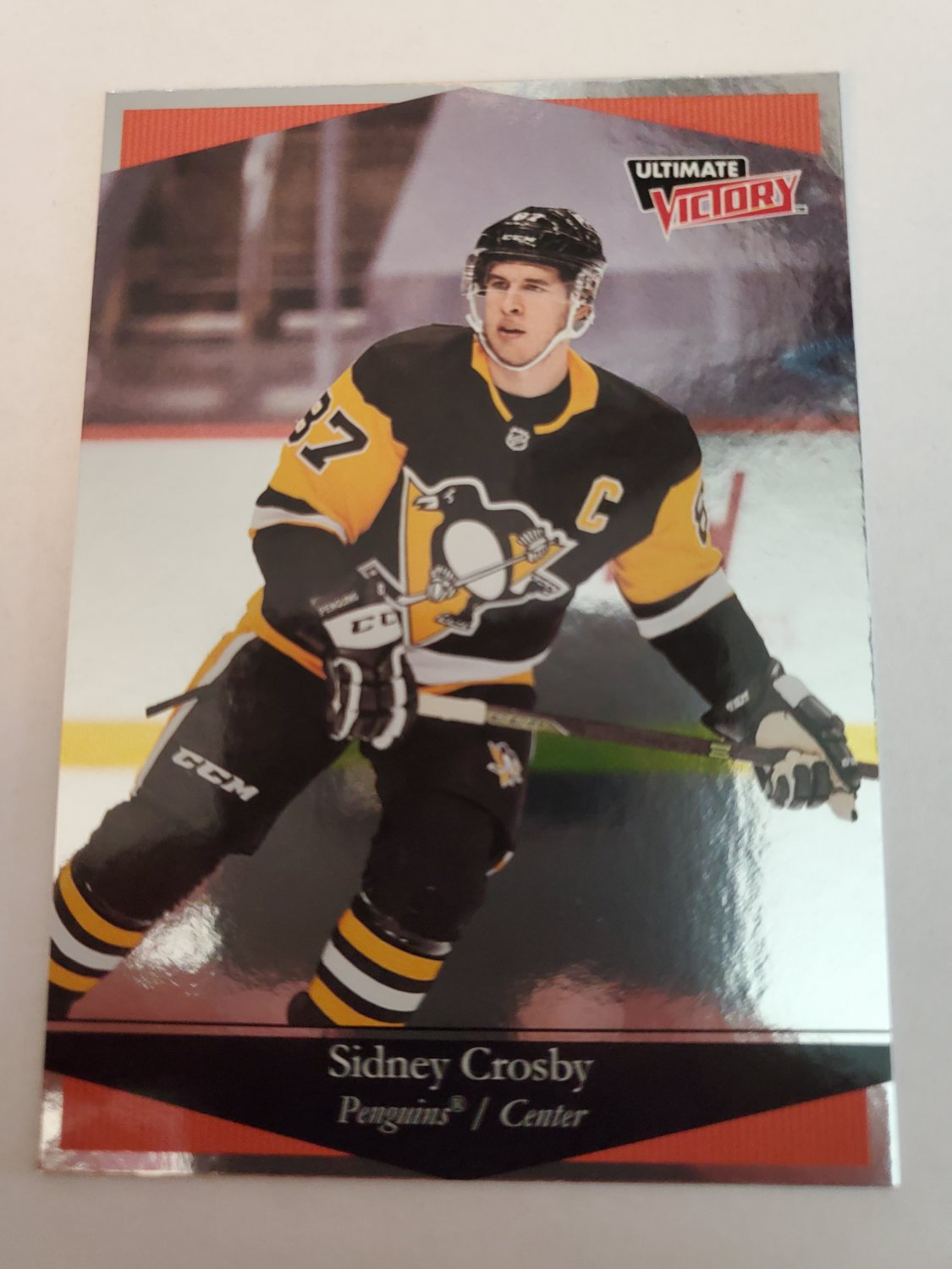 Sidney Crosby 2020-21 Upper Deck Ultimate Victory Insert Card