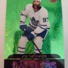 Joe Thornton 2020-21 Upper Deck Dazzlers Green Insert Card