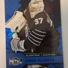Connor Hellebuyck 2020-21 Metal Universe AS Blue Spectrum Insert Card