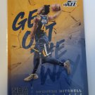 Donovan Mitchell 2018-19 Hoops Get Out Of The Way Insert Card
