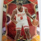 Patrick Williams 2020-21 Select Prizms Red White Orange Shimmer Rookie Card