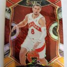 Malachi Flynn 2020-21 Select Prizms Red White Orange Shimmer Rookie Card
