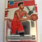 Devon Dotson 2020-21 Optic Rookie Card Card