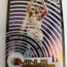 Giannis Antetokounmpo 2020-21 Optic T Minus 3 2 1 Insert Card
