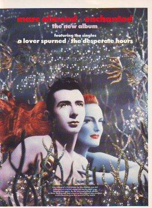 Marc Almond - Enchanted rare vintage advert 1990