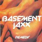 Basement Jaxx - Remedy rare vintage advert 1999