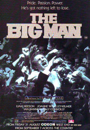 The Big Man - Liam Neeson - rare vintage advert 1990