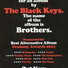The Black Keys - Brothers - rare vintage advert 2010