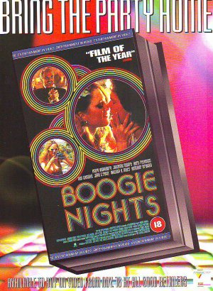 Boogie Nights - Burt Reynolds - rare vintage advert