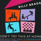 Billy Bragg - Don't Try This At Home - rare vintage advert 1991