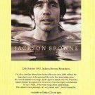 Jackson Browne - I'm Alive - rare vintage advert 1993