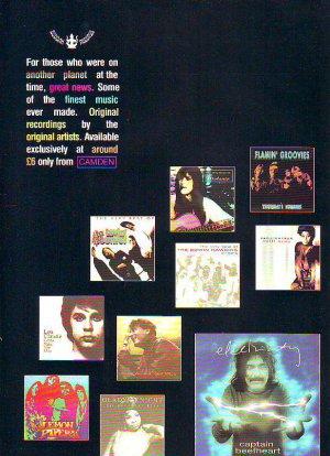 Buddah Records - rare vintage advert