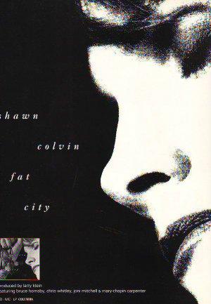 Shawn Colvin - Fat City - rare vintage advert 1992