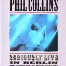 Phil Collins - Seriously Live In Berlin - rare vintage advert 1990
