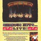 Phil Collins - Serious Hits Live  - rare vintage advert 1990