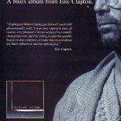 Eric Clapton - From The Cradle - rare vintage advert 1994