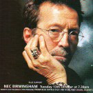 Eric Clapton - UK Tour - rare vintage advert 1998