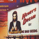 Nick Cave - Henry's Dream - rare vintage advert 1992
