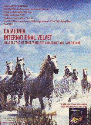Catatonia - International Velvet - rare vintage advert 1998