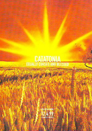 Catatonia - Equally Blessed And Cursed - rare vintage advert 1999