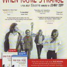 The Doors - When You're Strange - rare vintage advert 2009