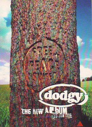 Dodgy - Free Peace Sweet - rare vintage advert 1996