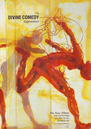 The Divine Comedy - Regeneration - rare vintage advert 2001