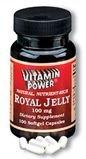 Royal Jelly 100 mg Capsules   (#300R)