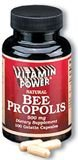 Bee Propolis 500 mg Capsules   (#665R)