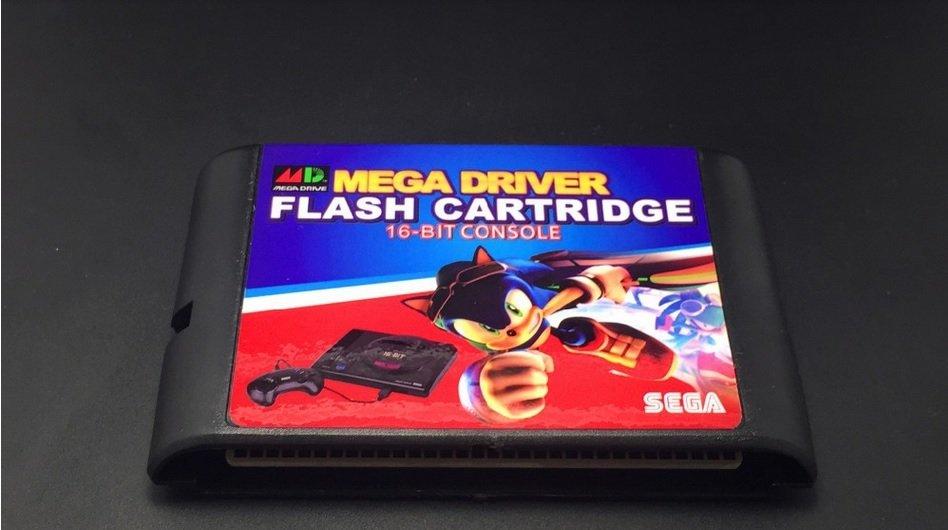 Sega Genesis and Mega Drive Flash cartridge