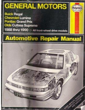 General Motors 1988 - 1990 Automotive Repair Manual