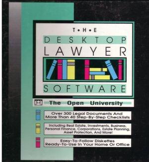 The Desktop Lawyer Software -- The Open University